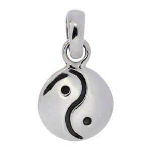 Small silver pendant Silver 925 Yin_Yang Taijitu