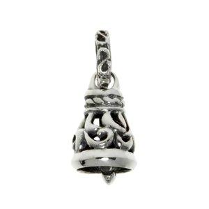Silber-Anhänger Silber 925 Tribal_Zeichnung Tribal_Muster Glocke Glöckchen