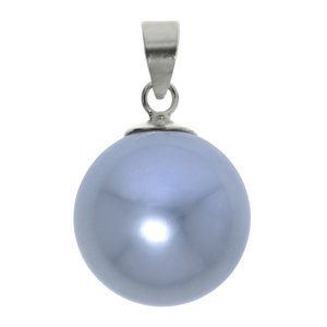 Silver pendant Silver 925 Synthetic Pearls