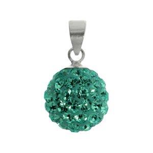 Kinder Halskette Silber 925 Kristall