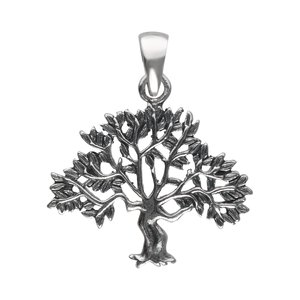 Silver pendant Silver 925 Leaf Plant_pattern