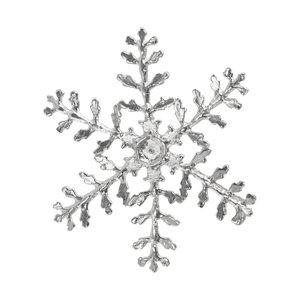 Colgante de plata Plata 925 Copo de nieve