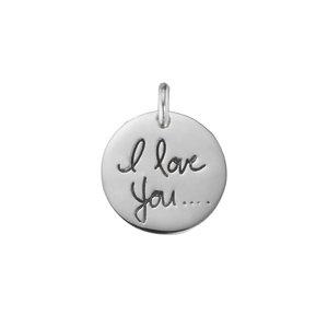 Colgante de plata Plata 925 Love Amor