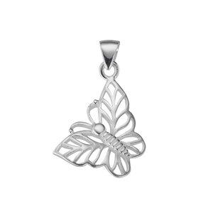 Zilveren Zilver 925 vlinder