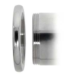Plug Metallo chirurgico 316L Cristallo Swarovski