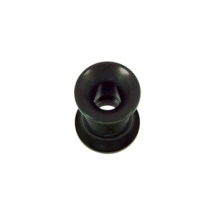 Plug Surgical Steel 316L Black PVD-coating