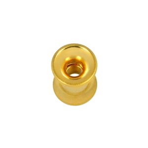 Plug Surgical Steel 316L Gold-plated