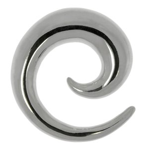 Plug Acier chirurgical 316L Spirale