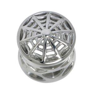 Plug Chirurgenstahl 316L Spinne Spinnennetz