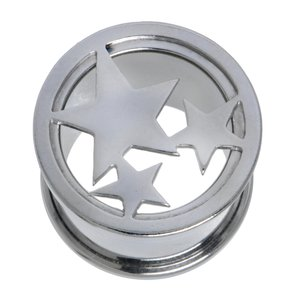 Plug Surgical Steel 316L Star