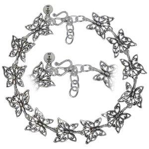 armbandje Zilver 925 vlinder