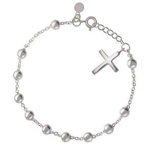 Silber-Armkettchen Silber 925 Kreuz