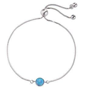 Silber-Armkettchen Silber 925 Opal
