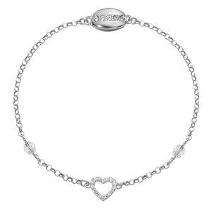 Silber-Armkettchen Silber 925 Swarovski Kristall Herz Liebe