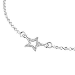 Silber-Armkettchen Silber 925 Stern