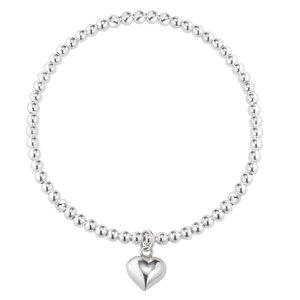 Silber-Armkettchen Silber 925 Herz Liebe