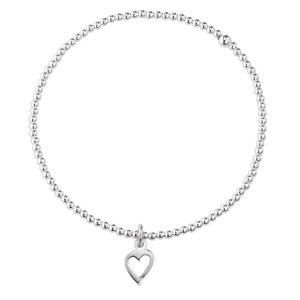 armbandje Zilver 925 hart liefde