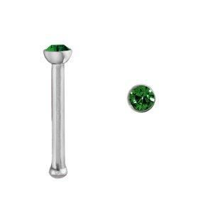 Piercing nez Acier chirurgical 316L Cristal