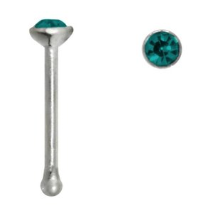 Nose piercing Surgical Steel 316L Crystal
