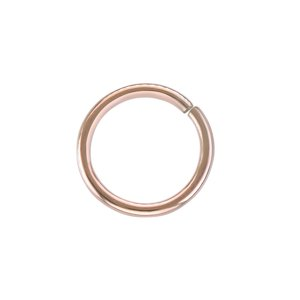 Nose ring Surgical Steel 316L PVD-coating (gold color)