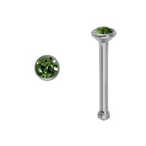 Nose piercing Surgical Steel 316L Swarovski crystal