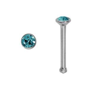 Piercing per naso Metallo chirurgico 316L Cristallo Swarovski