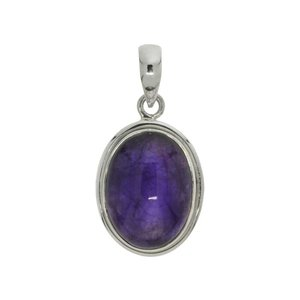 Stone pendant Silver 925 Amethyst