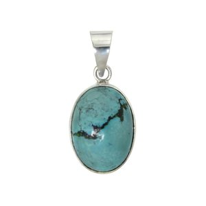 Stone pendant Silver 925 Turquoise