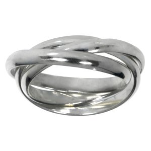 Fingerring Silver 925 Eternal Loop Eternity