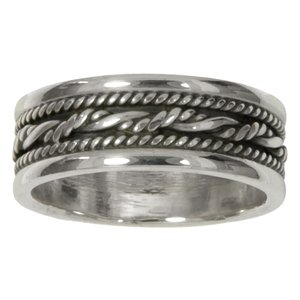 ring Zilver 925 tribal_tekening tribal_patroon