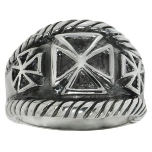 Fingerring Silver 925 Cross