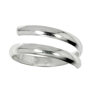 Kinder Ring Zilver 925 spiraal