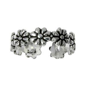 Kinder Ring Silber 925 Blume