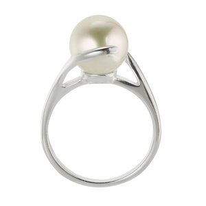 Fingerring Silver 925 Fresh water pearl
