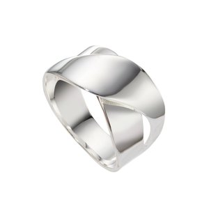 Fingerring Silber 925 Welle