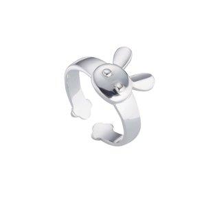 ring Zilver 925 Konijntje