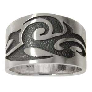 Ring Silver 925 Tribal_pattern