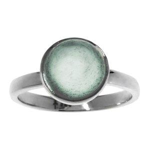 Fingerring Silber 925 Aqua Chalcedon