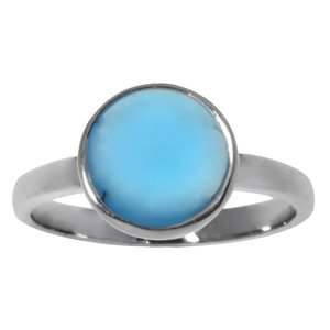 Ring Silver 925 Blue Topaz