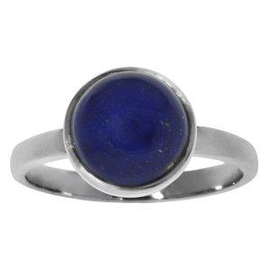 Bague de doigt Argent 925 Lapis-lazuli