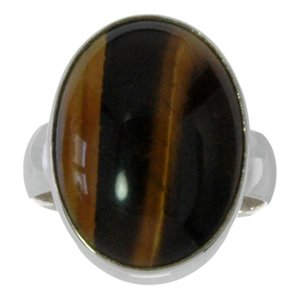 Ring Silver 925 Tiger´s eye
