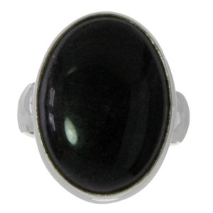 ring Zilver 925 Onyx