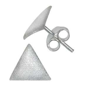 Earrings Silver 925 Triangle