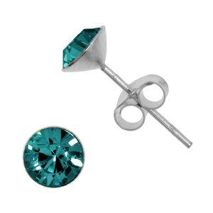 Ear studs Silver 925 Crystal