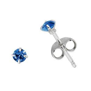 Ear studs Silver 925 zirconia