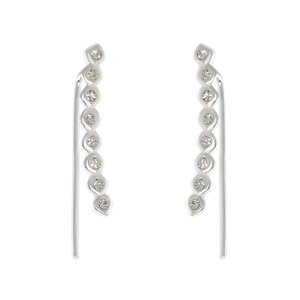 Dangle earrings Silver 925 Crystal