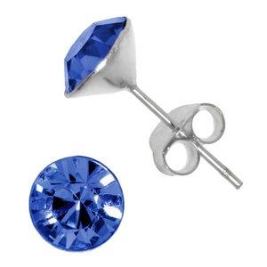 oorstekers Zilver 925 Kristal