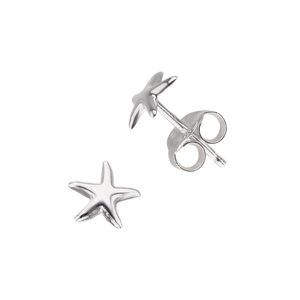 Kids earrings Silver 925 Star