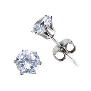 Earrings Titanium zirconia