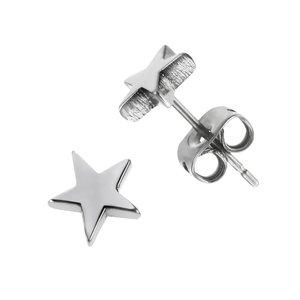 Pendientes Titanio Estrella